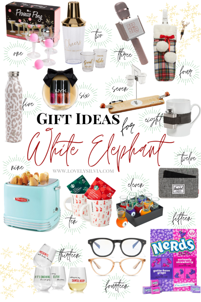 White Elephant Gift Ideas White Elephant Gifts Elephant Gifts