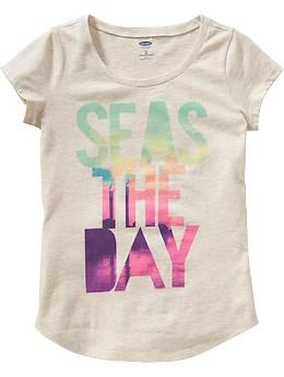 S Beach Graphic Tees Toddler