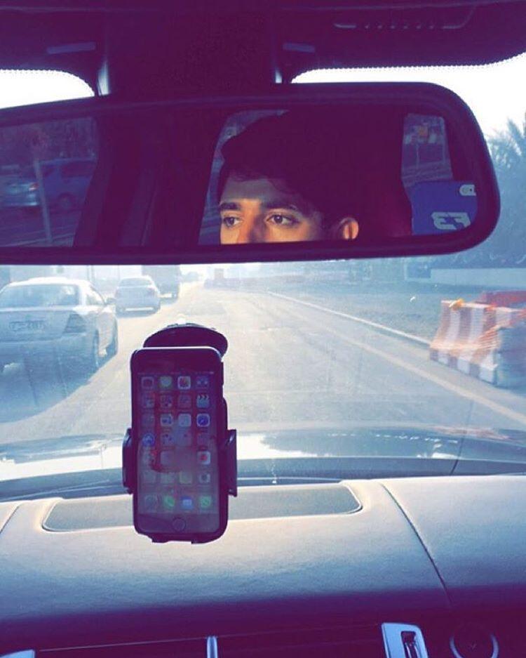Fazza Fans Fazza3 فزاع On Instagram Faz3 Monday 21 12 2015 الإثنين صورة سمو الشيخ حمدان بن Instagram Posts Car Mirror Instagram