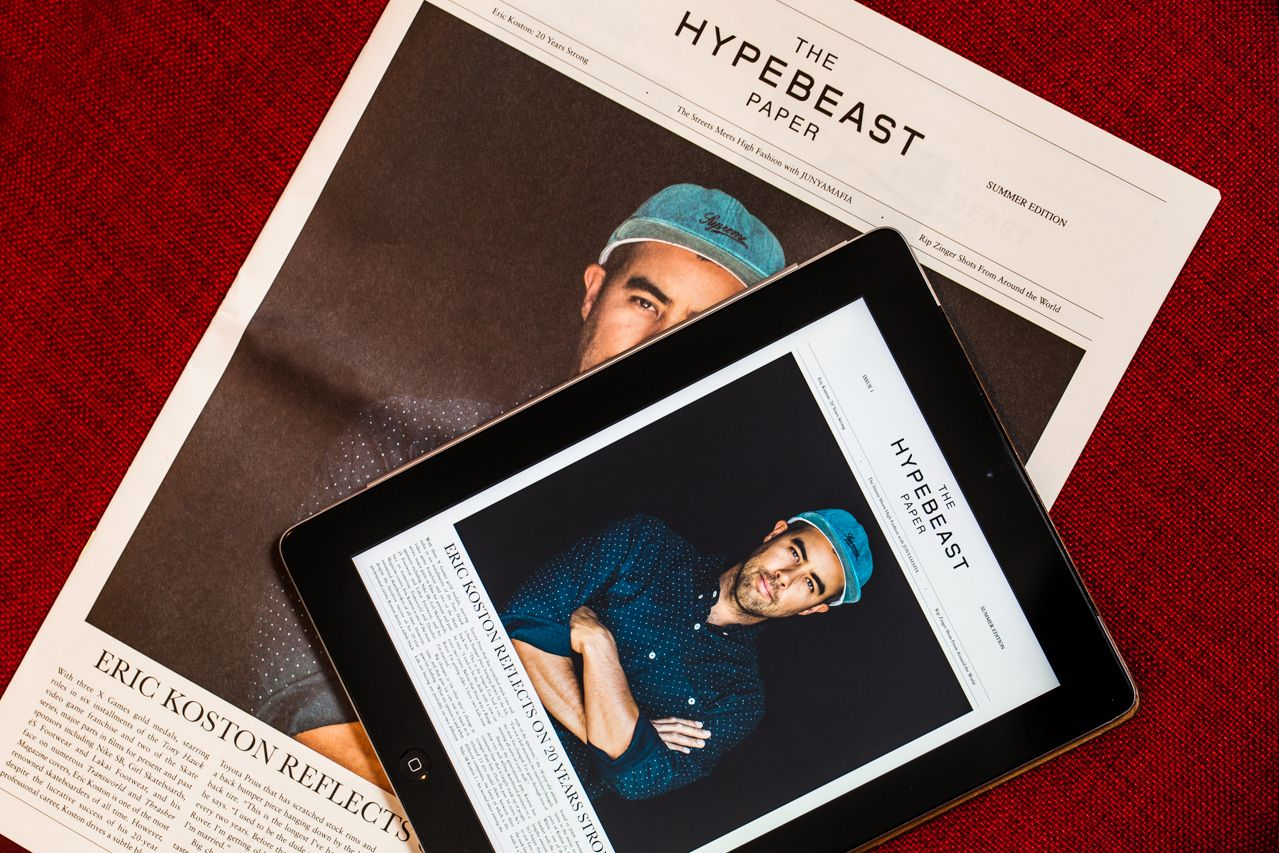 hypebeast:  Why Fashion Needs Print | EditorialRead through our take here:http://hypb.st/174TOHn