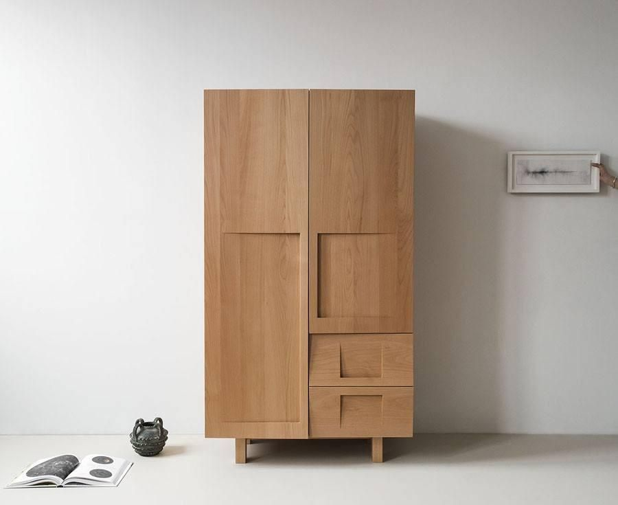 Workstead Beech Wood Wardrobe In 2019 Bathroom Cabinet Wooden