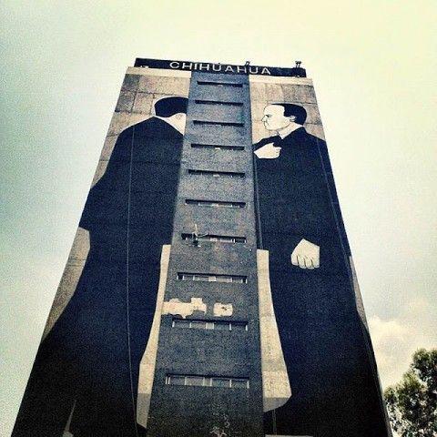 Escif - All City Canvas Urban Art Festival 2012 @ Mexico