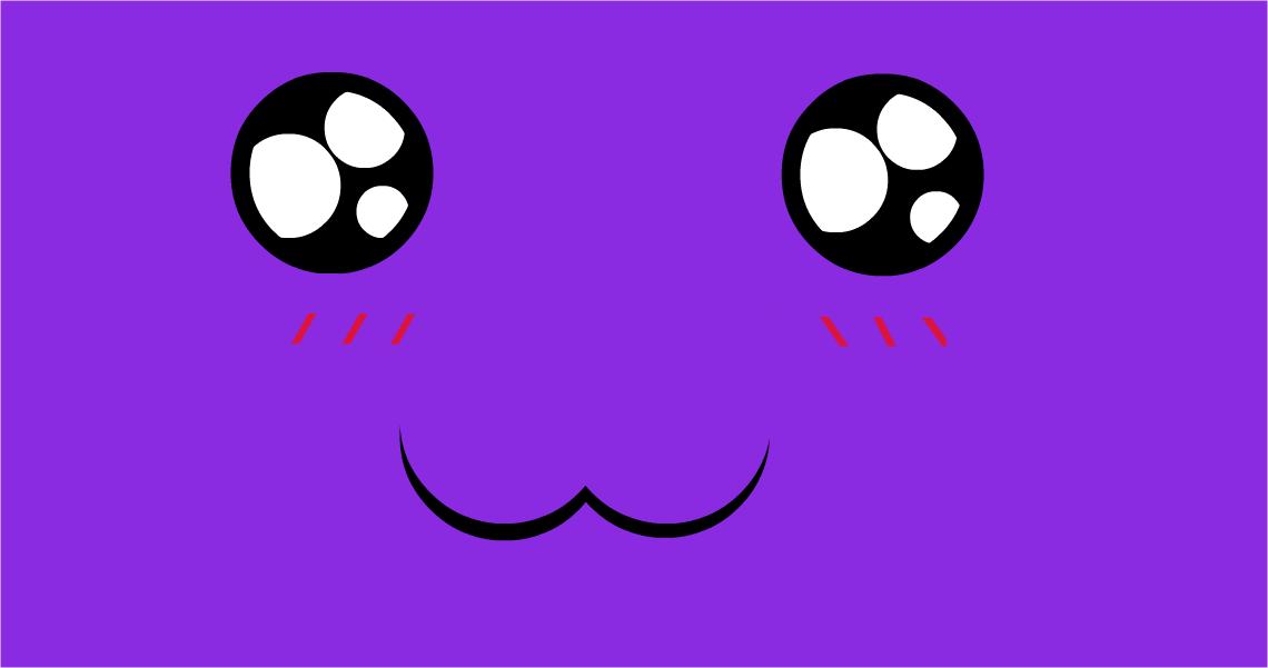 So Cute But Random Derpy Purple Face