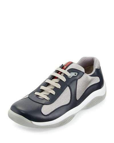 Sneakers - Punto Ala Sneakers Nylon Silver - silver - Sneakers for ladies Prada 9DfALLqzT