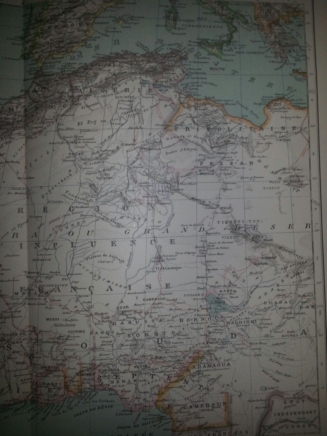 Pin on Antique Maps at Reveriefrance on Etsy
