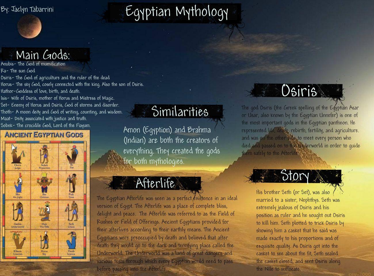 Egyptian Mythology | Egyptian Mythology | Publish with Glogster ...