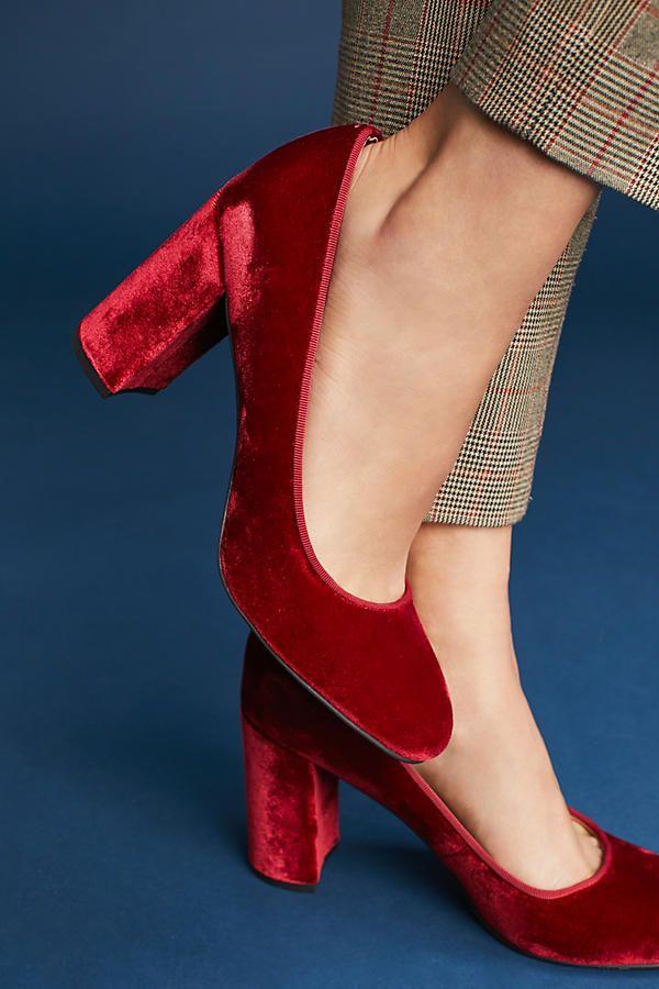 535baaa554 Sarto by Franco Sarto Aziza Velvet Heels | shoes | Pumps heels ...