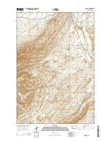Wilsall MT Topo Map Scale X Minute Current - Mt topo maps