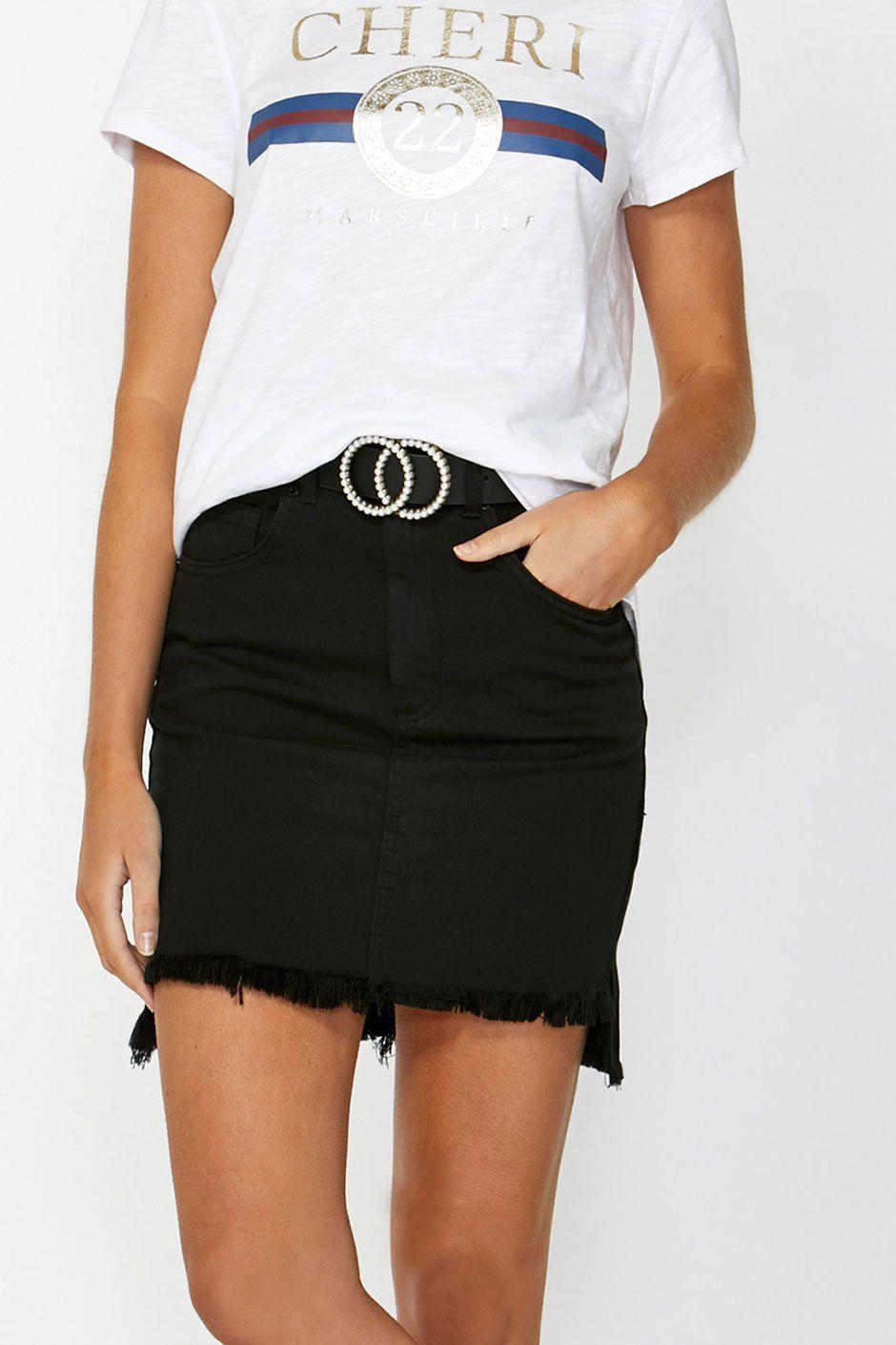 bd0280f3db Georgina Step Hem Mini Skirt   wish list   Mini skirts, Skirts, Mini