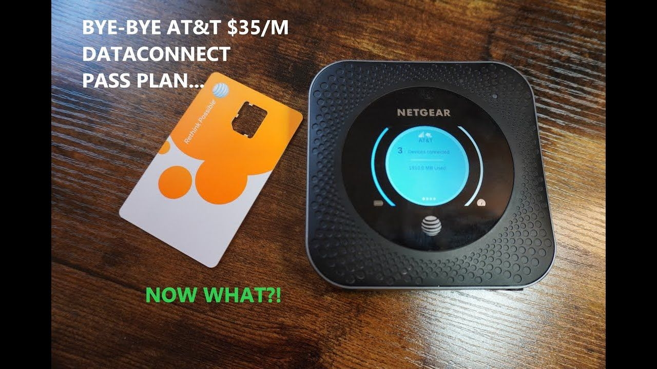 AT&T Dataconnect Pass Is Gone! Unlimited, Unthrottled Data