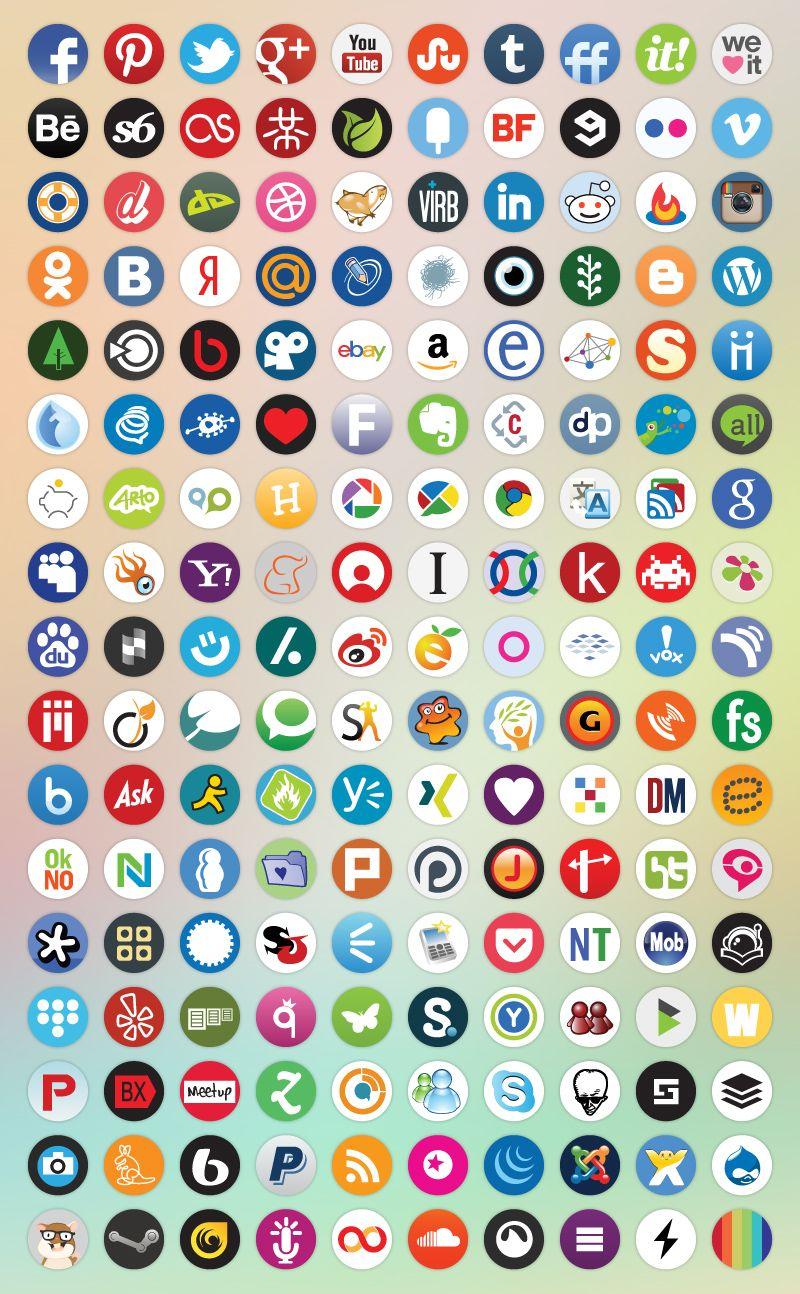 Media logos names social and 103+ Social