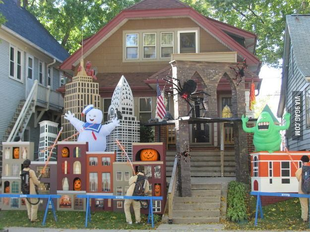 Awesome Ghostbusters Halloween Decorations Fun Random