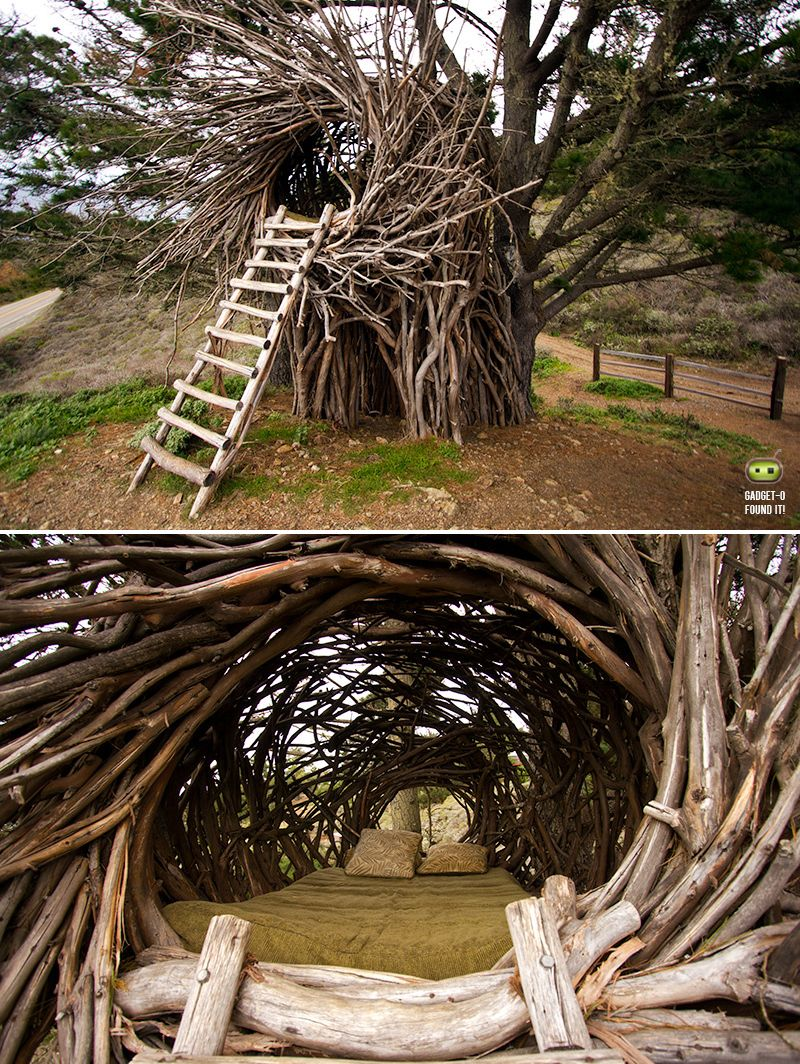 Human Nest At Treebones Resort Big Sur Architecture