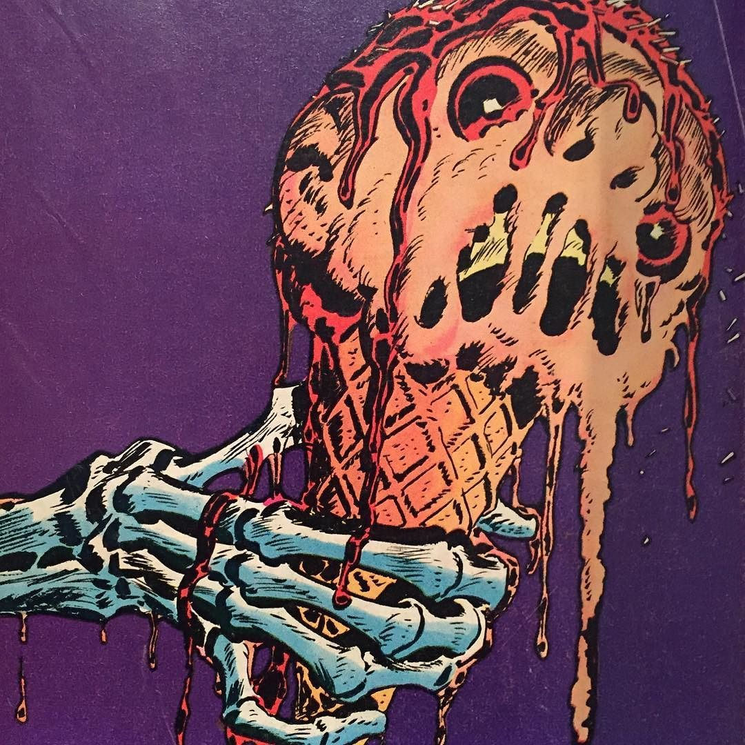 """ Zombie ice cream cone from House of"