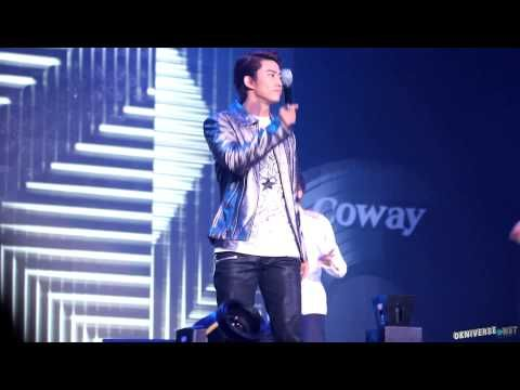 [Fancam] 121129 Coway Concert(코웨이) 택연-10 out of 10 (Taecyeon テギョン 2pm)