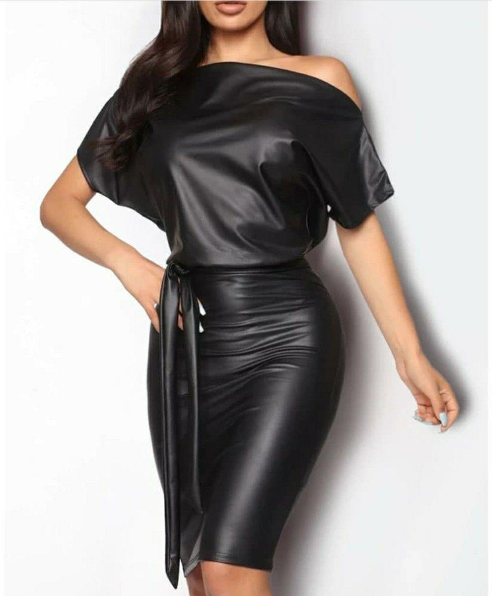 Pin By Sheila Crenshaw Johnson On Sheila Fashionista In 2020 Leather Bodycon Dress Bodycon Dress Faux Leather Dress [ 1200 x 991 Pixel ]