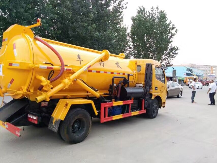 Sewage Vacuum Suction Truck Trucks Vacuum Suction Vacuums