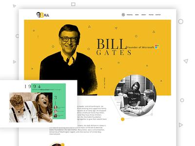 Bill Gates Bill Gates Bills Creative Graphics