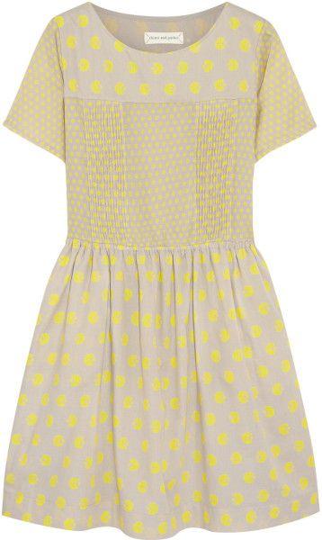 Love this: Printed Cotton Mini Dress @Lyst