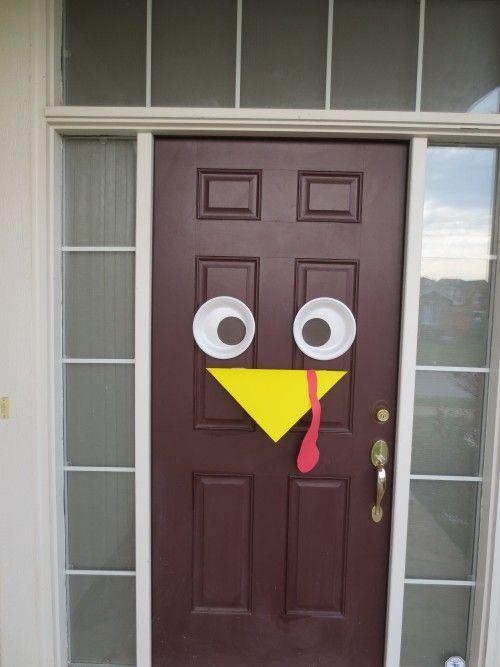 Turkey Door Decoration Tutorial