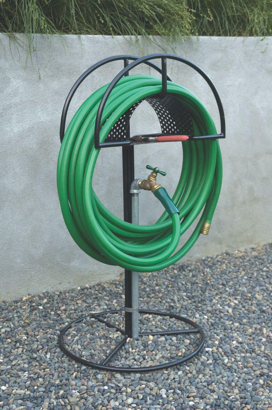 Hose Jockey — Garden hose storage, Garden