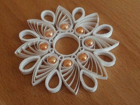 QUILLING Quilling Snowflakes Pinterest Filigrana, Papel y