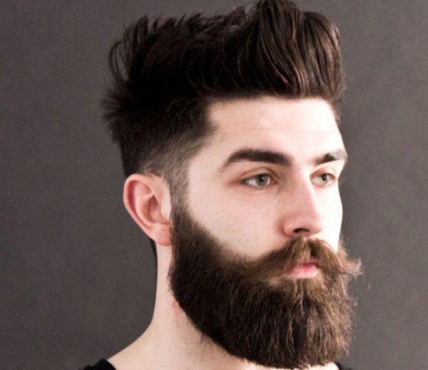 Strange 1000 Images About Beard Styles And Advice On Pinterest Hipster Short Hairstyles Gunalazisus