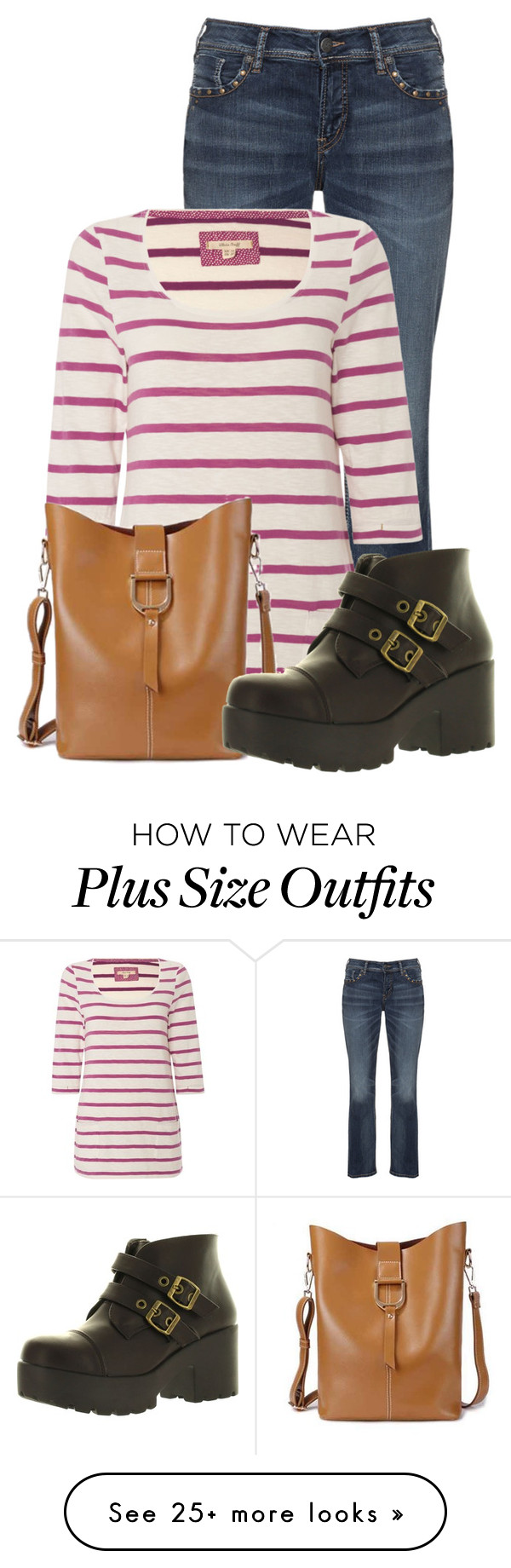 """""""Untitled #13641"""" by nanette-253 on Polyvore featuring Silver Jeans Co. and White Stuff"""