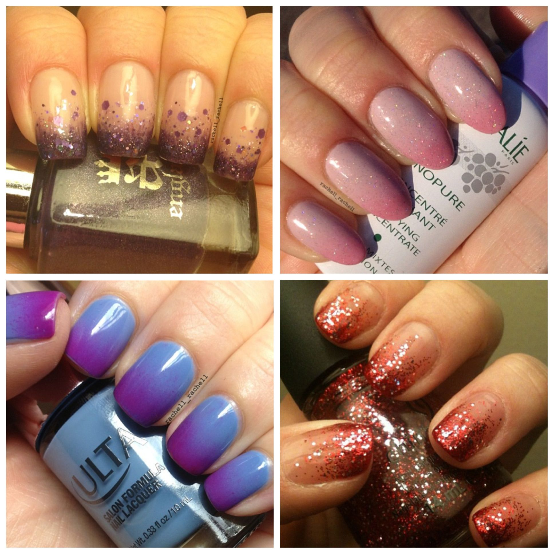Ombré Nails Done At Black Label Salon And Spa!