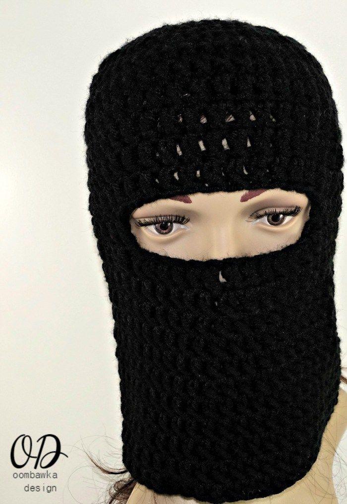 Warm Winter Ski Masks Free Crochet Patterns
