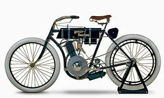 First Harley Davidson: First Harley Davidson Motorcycle Built