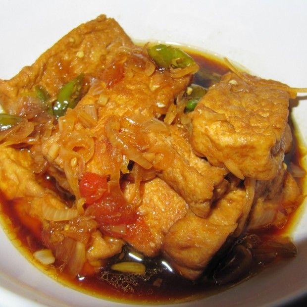 Sayur Tahu Kecap Resep Resep Masakan Indonesia Resep Tahu Resep