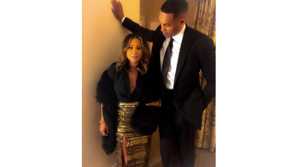 Couplecam Celebs Show Love On Instagram Tamia Realtamiaworld Check This Gorg Couple Out Tamia And Grant Hill Hit The Uncf Mayors Masked Ball In