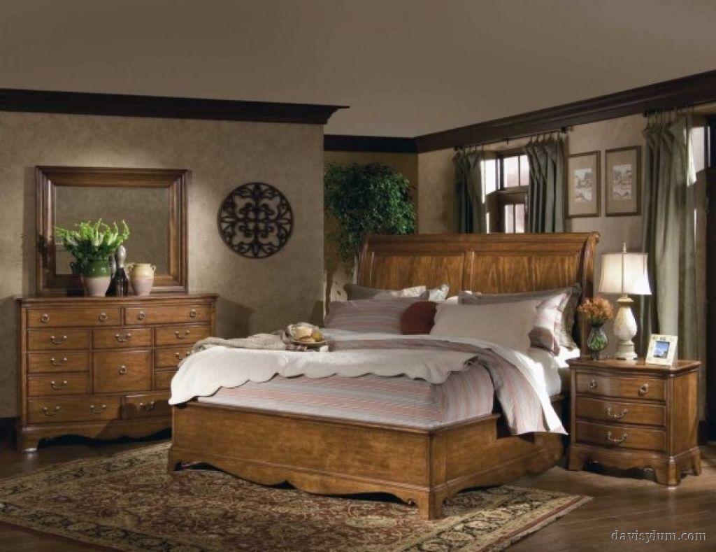 Wood Bedroom Decorating Ideas Bedroom