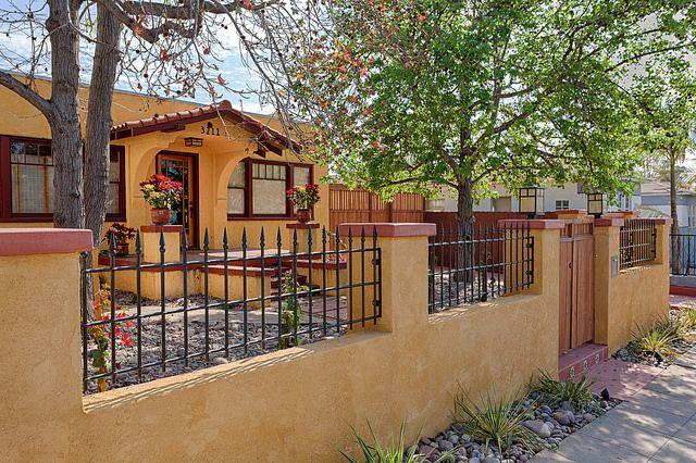 San Diego Custom Iron Stucco Spanish Fence Custom Fences