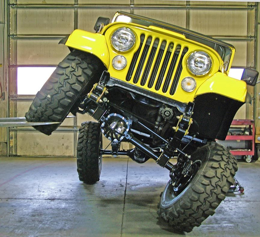 Cj Flex I Love My Jeep They Are Truly More Flexible Then Me Doing Yoga Jeep Cj Jeep Trails Yellow Jeep