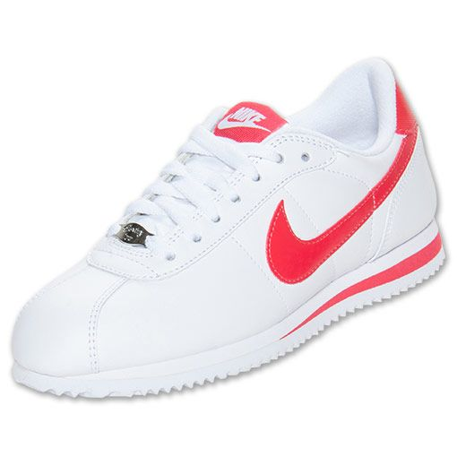 Womens Nike Cortez Basic Leather Casual Shoes