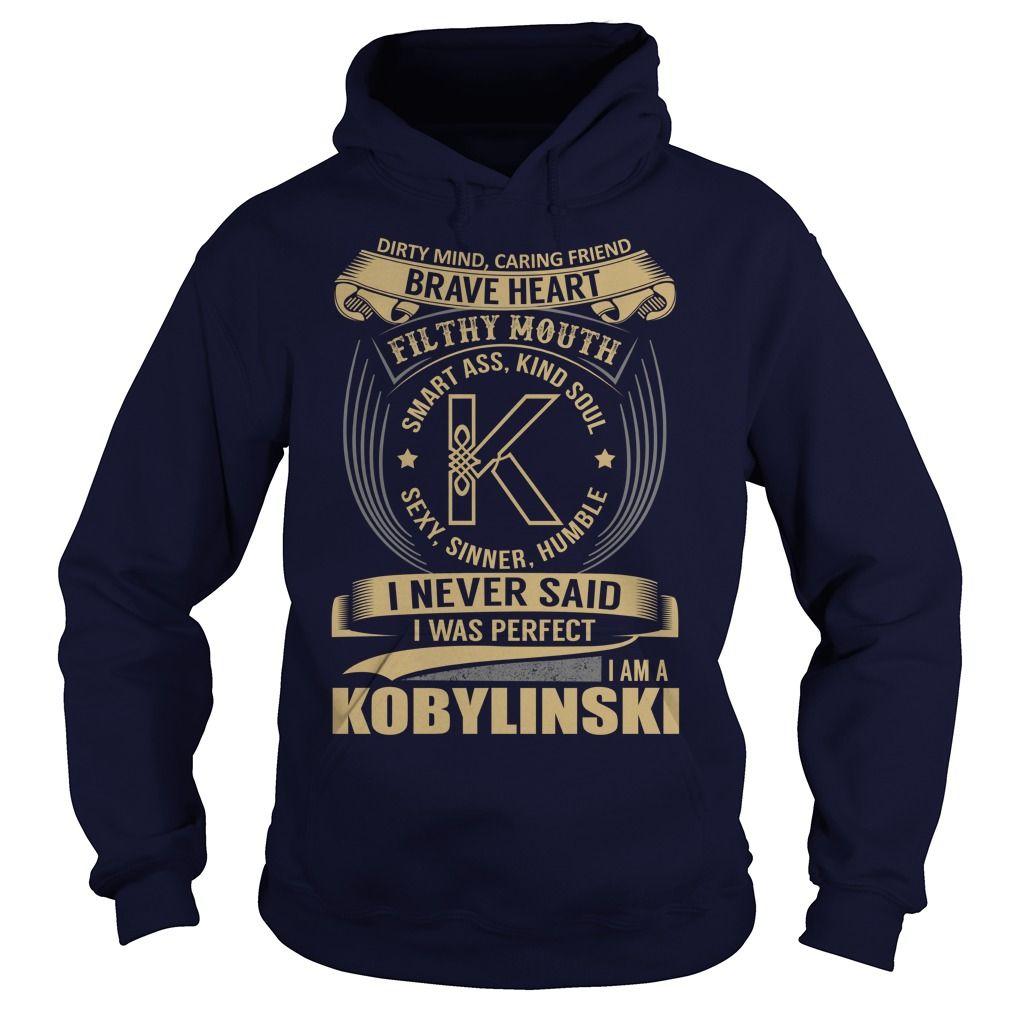 (Tshirt Cool Produce) KOBYLINSKI Last Name Surname Tshirt Shirts of month Hoodies Tees Shirts