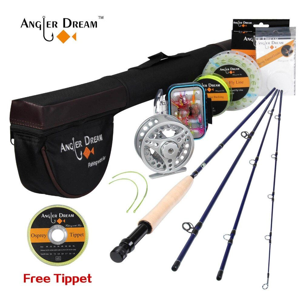 Special Offer Angler Dream Fly Rod Combo Honor 3 4 2 4m Fly Fishing Rod Reel Rod Bag Fly Flies Bo Fly Fishing Pole Fly Fishing Rods Trout Fishing Rods