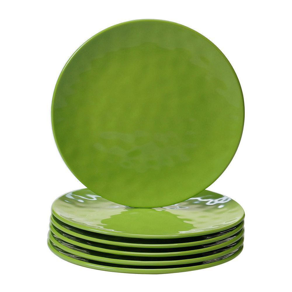 Certified International 6-pc. Salad Plate Set, Green