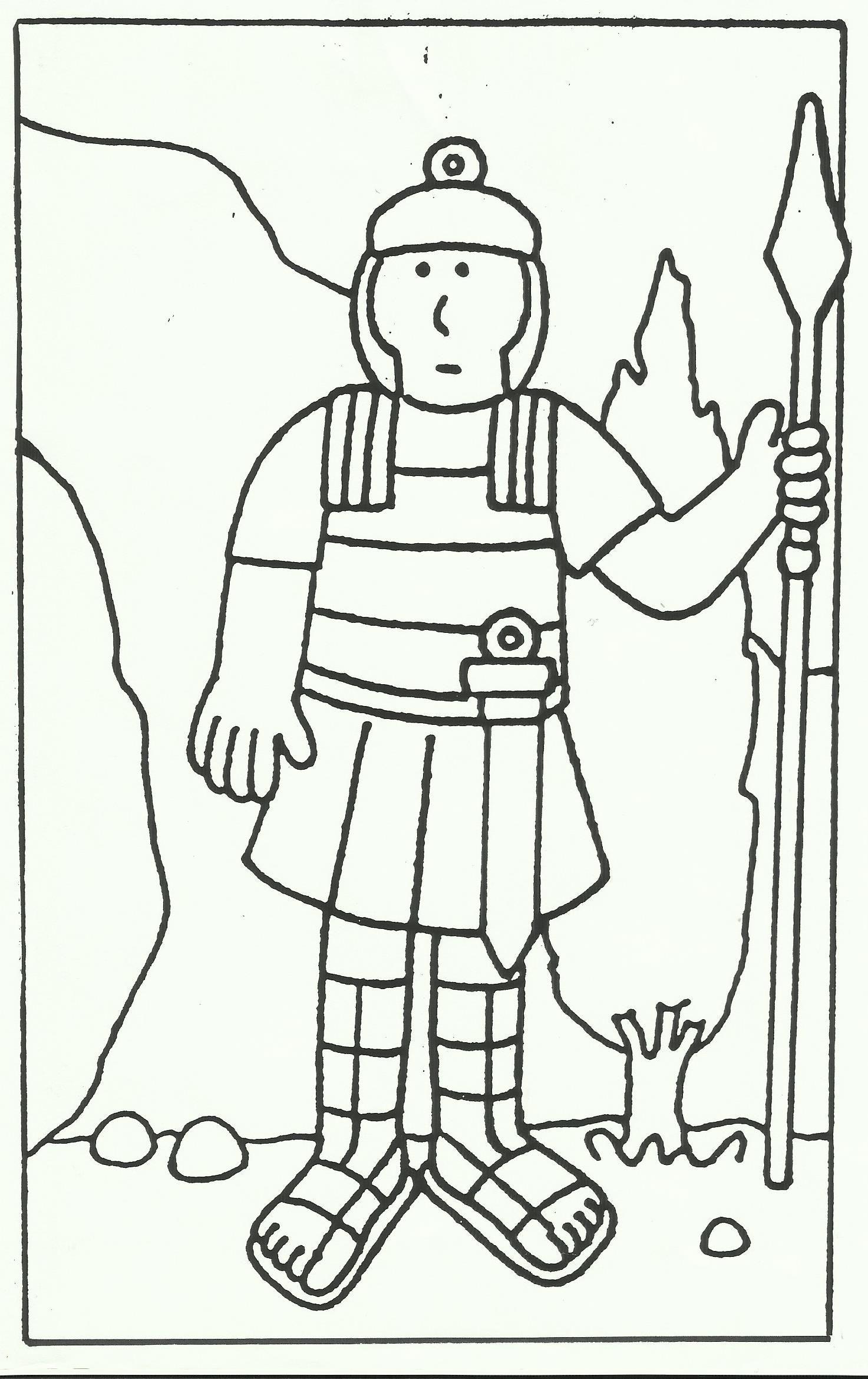 Romeins Soldaat Romeinse Soldaten Romeinen Soldaat