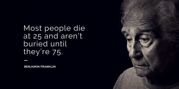 Bon Interesting Quotes · Benjamin Franklin