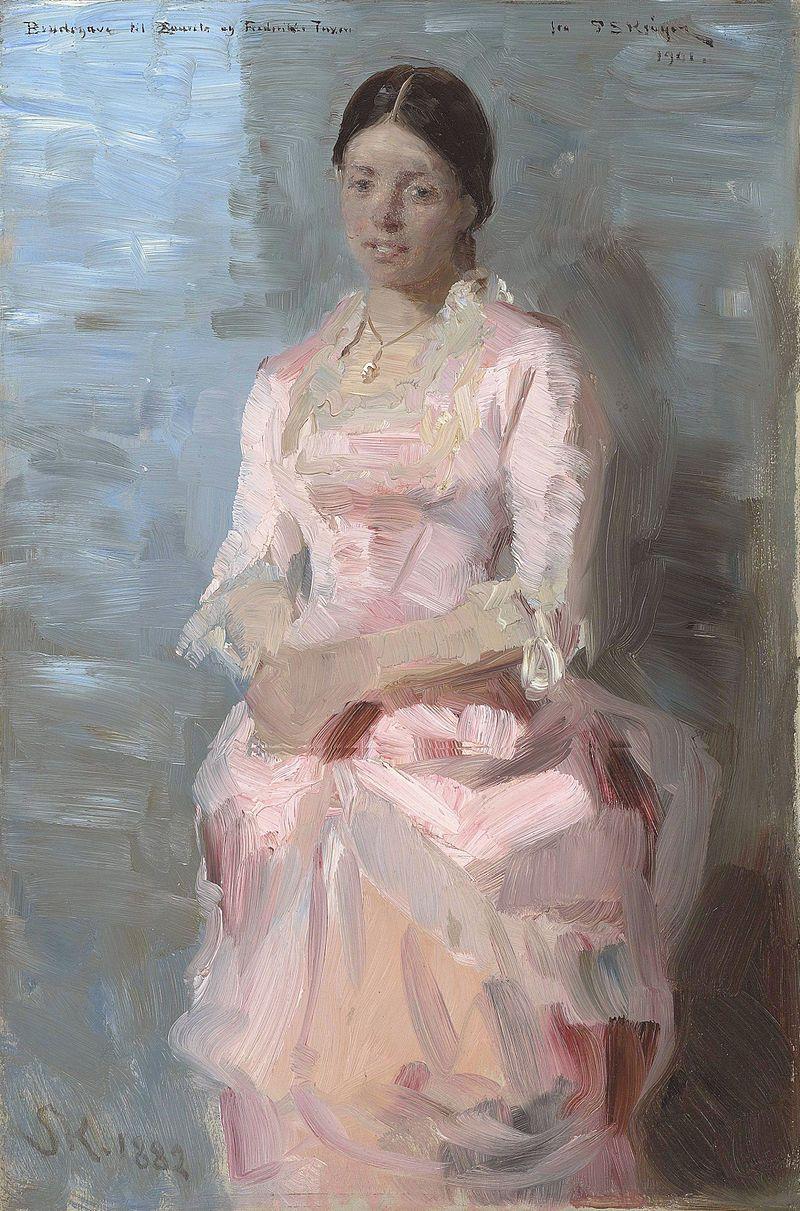Frederikke Tuxen by Peter Severin Krøyer Laurits Tuxen