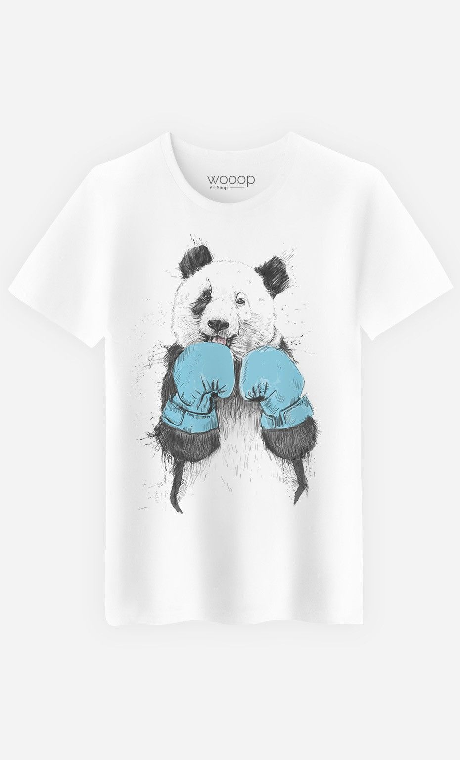T-Shirt Homme Fashion \'The Winner Panda\'