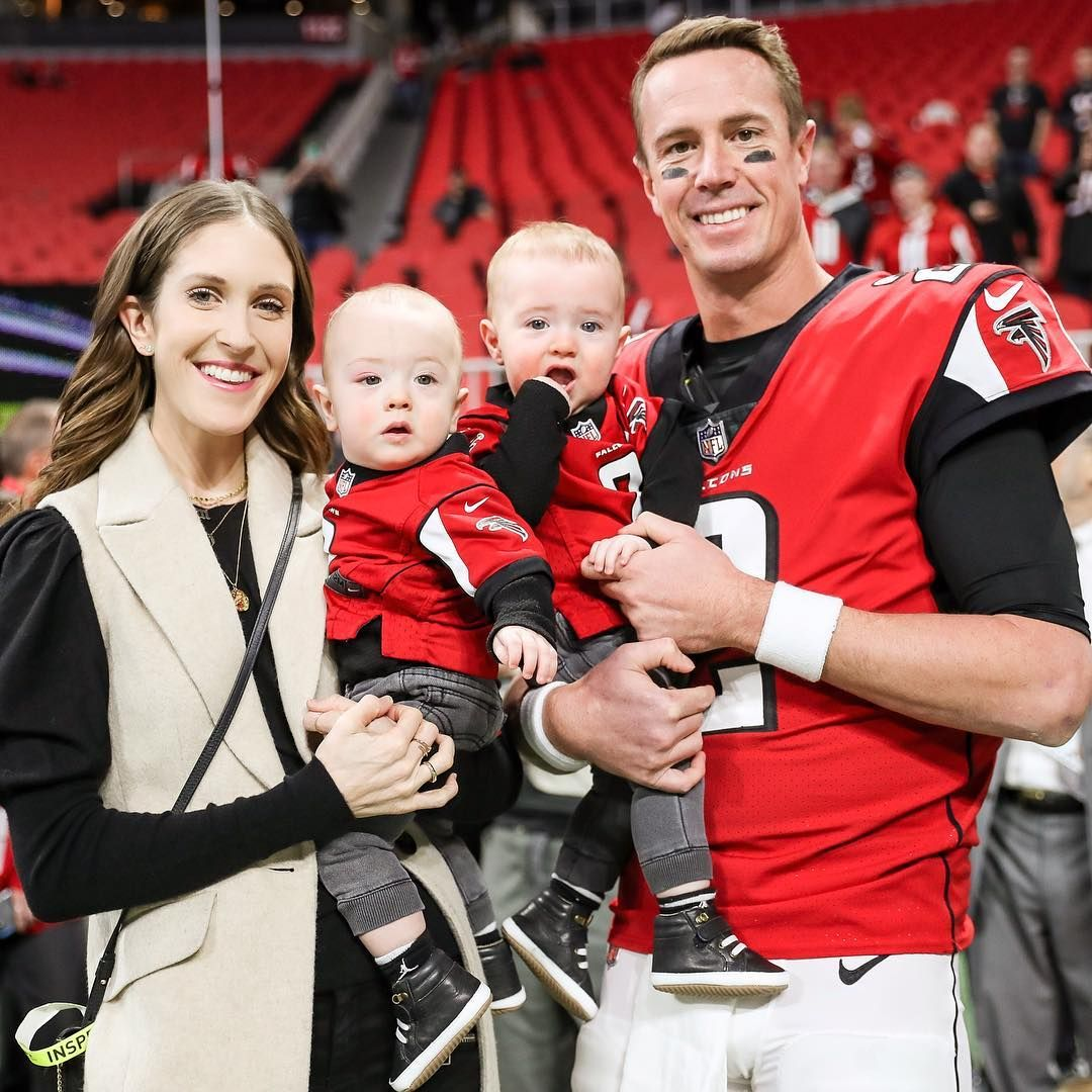 Sarah Ryan On Instagram Boys First Game Falcons Win Dads 100th Win Yesterday Was A Good Day Nfl Championships American Football Team Dads