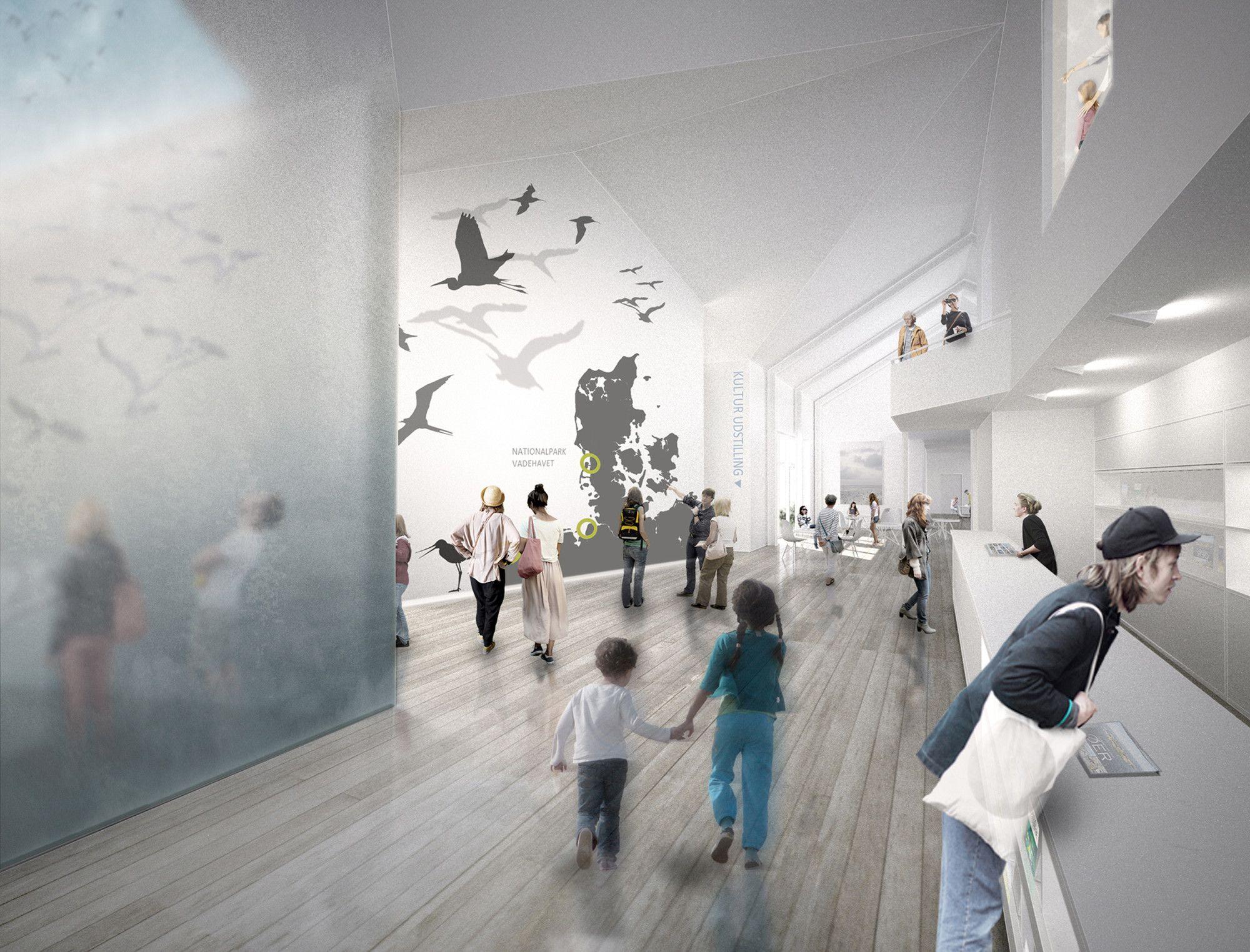 Dorte Mandrup Designs Wadden Sea Center for Denmark's Largest National Park,© Dorte Mandrup Arkitekter