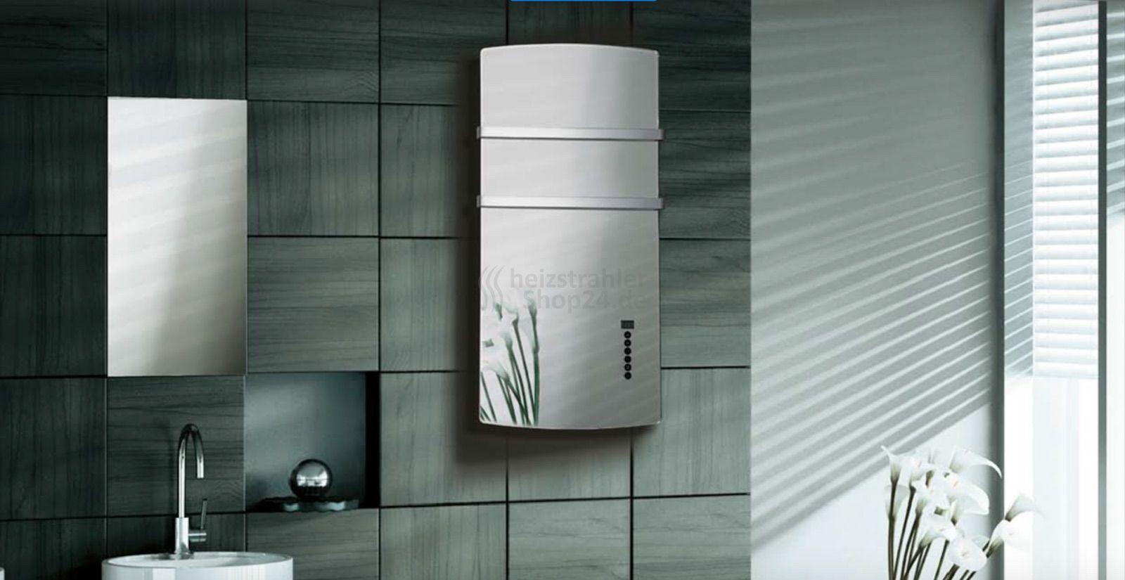 Infrarot Spiegelheizung Mit Handtuchhalter Spiegelheizung Infrarotheizung Handtuchhalter