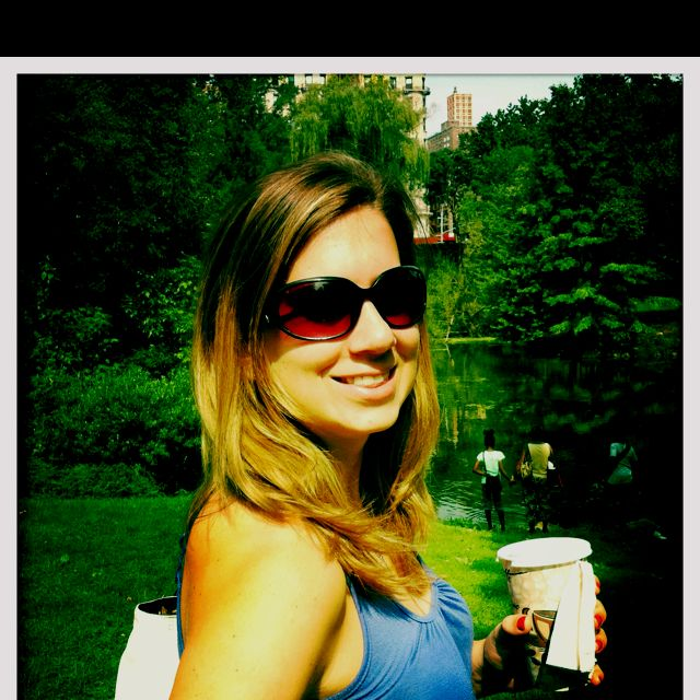 Coffee in central park on Sean's 27th birthday