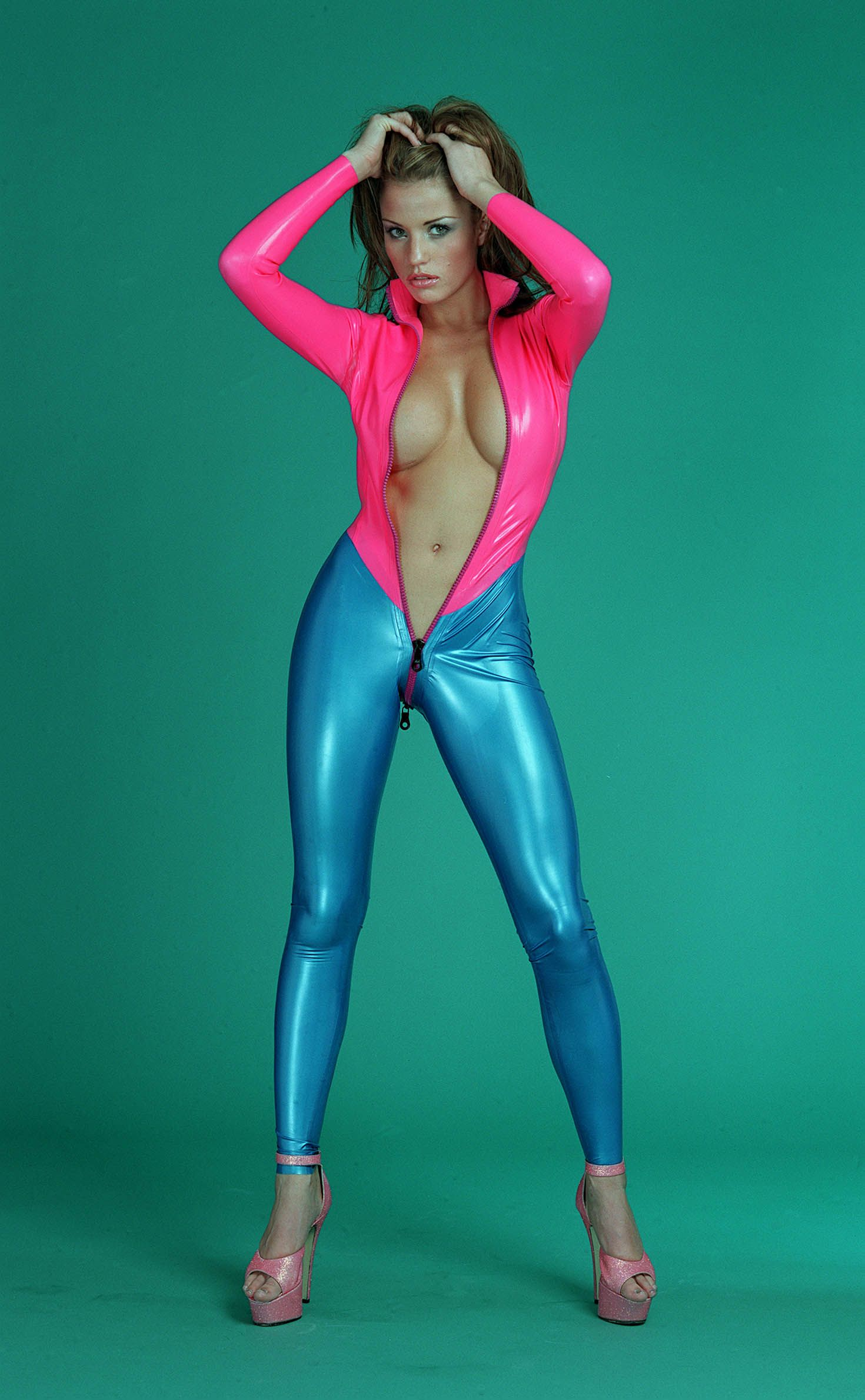 katie price in latex