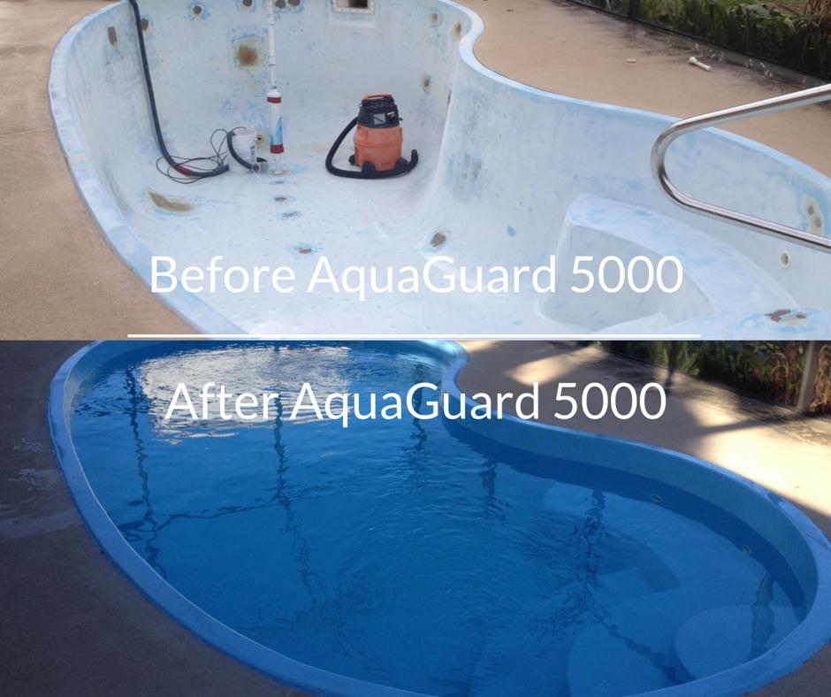 Repair Resurface And Refinish Pool With Aquaguard 5000 Diy